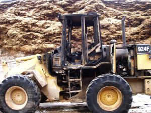 A heavy equipment loss.